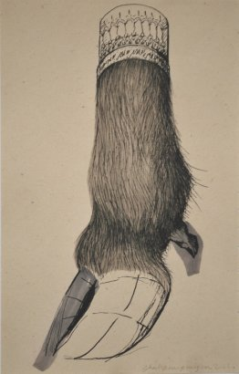 Shahpour Pouyan, A Drawing of a Hoof, 2010