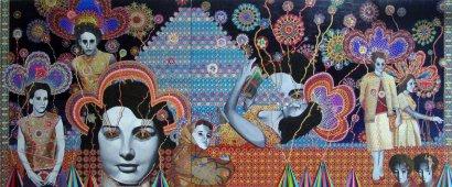 Asad Faulwell, Les Femmes D'Alger #36, 2013