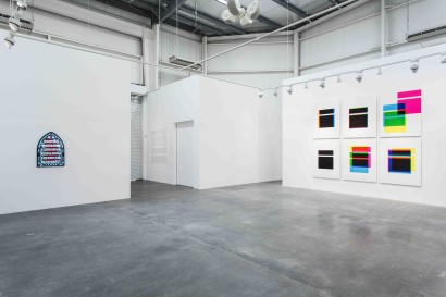 Hamra Abbas  Kaaba Picture as a Misprint  Installation view of exhibition