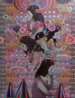 Asad Faulwell, Les Femmes D'Alger #62, 2016