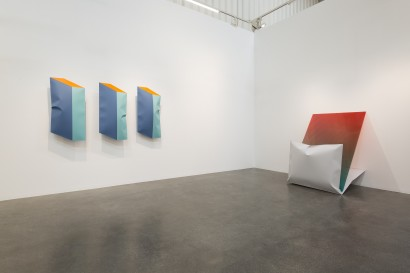 Installation view of Shaikha Al Mazrou's solo exhibition titled Expansion / Extension