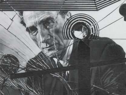 Dan Fischer - Duchamp Behind Glass, 2011