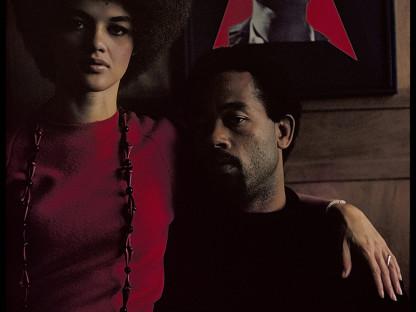 Gordon Parks - Eldridge Cleaver and His Wife, Kathleen, Algiers, Algeria, 1970