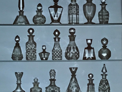 Perfume Bottles Photogram