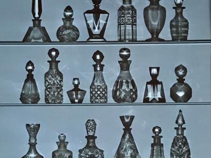 Perfume Bottles Photogram