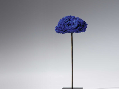 Untitled Blue Sponge Sculpture (SE 322)