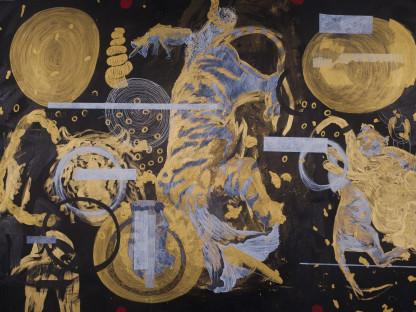 Gold Circle Tiger 01