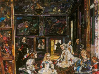 The Prado Museum (Las Meninas, after Diego Rodríguez de Silva y Velázquez) (Repro)