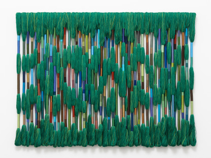 Sheila Hicks - Esmeralda (Emerald Forest), 2019