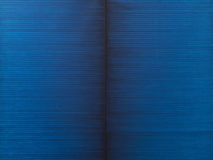 Irma Blank - Radical Writings, Schrift-Atem-Bild, 8-6-92, 1992