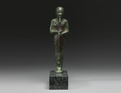 <span class=%22title%22>Bronze Statue of Ptah </span>