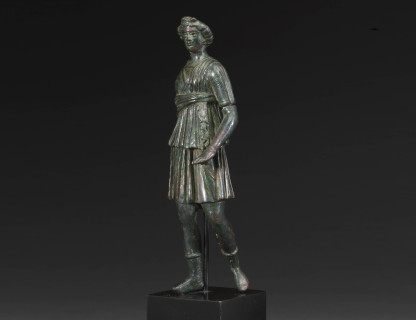 <span class=%22title%22>Roman Bronze Figure </span>