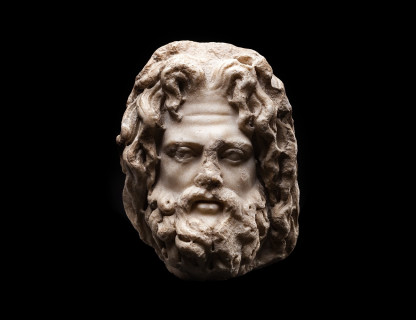 <span class=%22title%22>Head of a Bearded God</span>