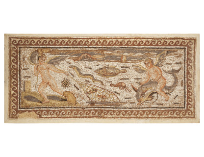 <span class=%22title%22>Roman Marine Mosaic </span>
