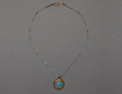 <span class=%22title%22>Bactrian Turquoise Necklace</span>