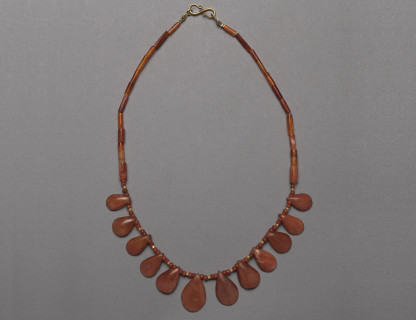 <span class=%22title%22>Carnelian Pendant Necklace </span>