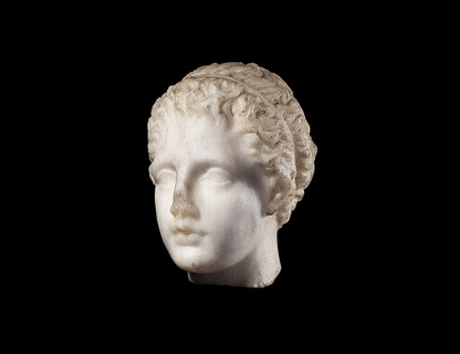 <span class=%22title%22>'Gallatin' head of Artemis</span>