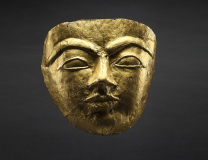 <span class=%22title%22>Funerary Gold Mask </span>