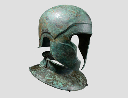 <span class=%22title%22> Samnite Helmet and Neck Brace</span>