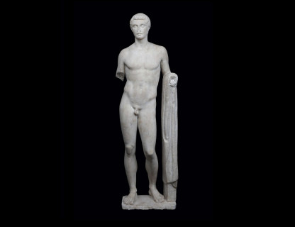 <span class=%22title%22>Figure of a youth, possibly Hermes </span>