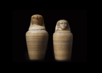 <span class=%22title%22>Pair of Canopic Jars Inscribed for Ptah-Iridis</span>