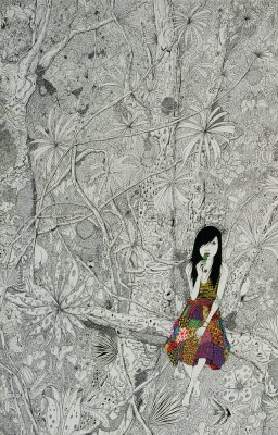 Patterned Dress - Jungle, 2009