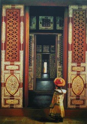Palace Entrance, 1991