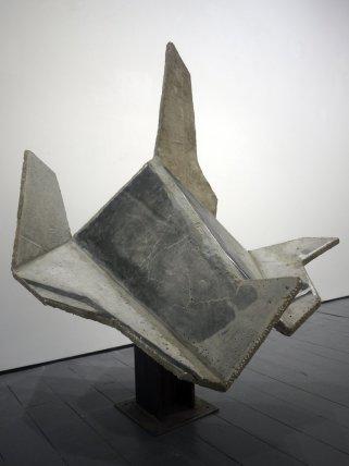 Neil Ayling, Untitled - Concrete Folded Mono Print, 2011