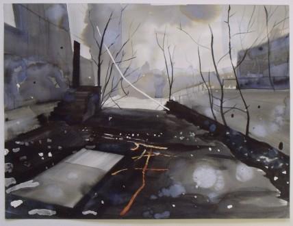 Ross M. Brown, White Tree Study, 2011