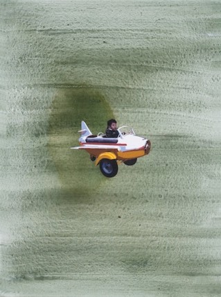 Hani Zurob, Flying Lesson #09, 2011
