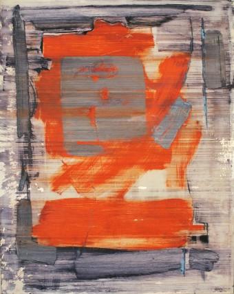 William Bradley and Mark Selby Untitled 2 Oil on aluminium 113 x 90 cm