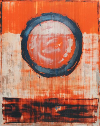 William Bradley and Mark Selby Untitled 3 Oil on aluminium 125.5 x 100 cm