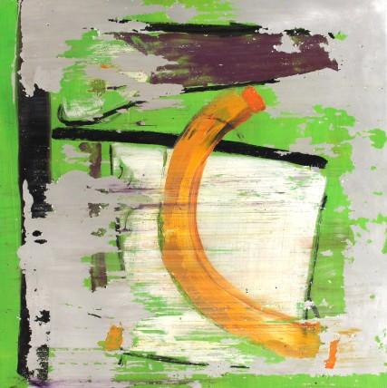 William Bradley and Mark Selby Untitled 15 Oil on aluminium 100 x 100 cm