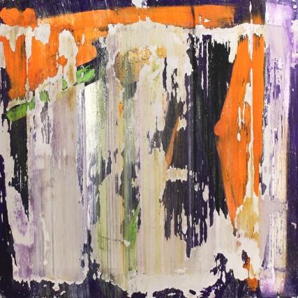 William Bradley and Mark Selby Untitled 17 Oil on aluminium 100 x 100 cm