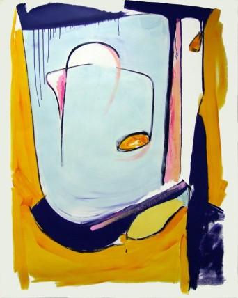 William Bradley Tickety Boo (2014) Oil on paper 152 x 122 cm