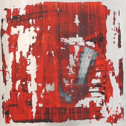 William Bradley and Mark Selby Untitled 8 Oil on aluminium 63 x 62.5 cm