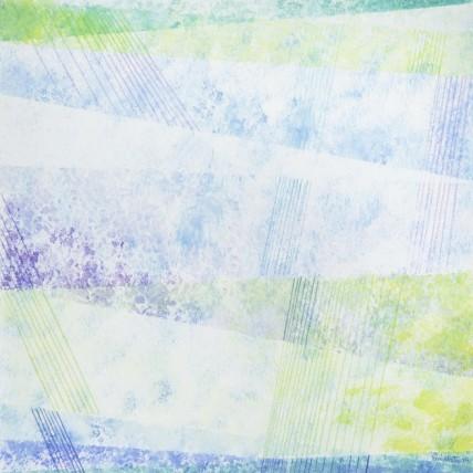 Addolcendo 3 Watercolour on paper 25.5 x 25.5 cm