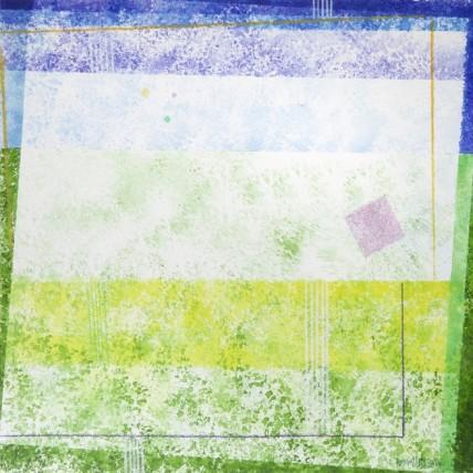 Addolcendo 4 Watercolour on paper 25.5 x 25.5 cm