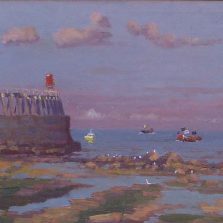 Douglas Hill - East Pier Whitby