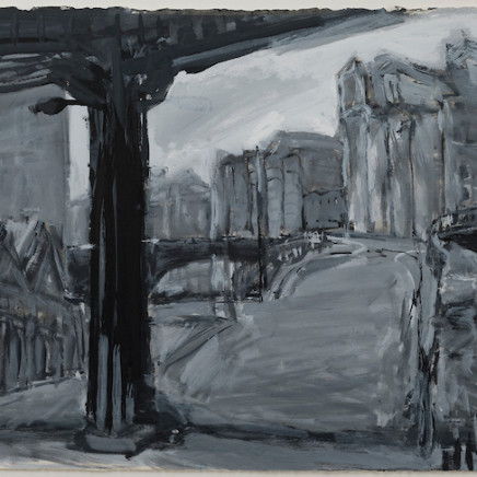 Kevin Connor - Iron Bridge (to Pier 19, Pyrmont), 1992