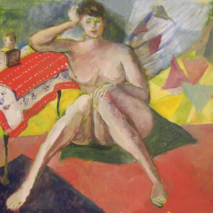 Judy Cassab AO, CBE - Seated Nude, 2008