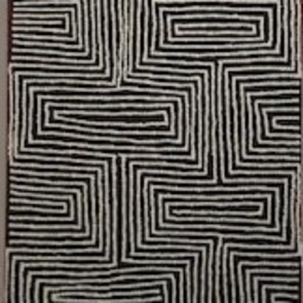 Jake Tjapaltjarri - Untitled, 2018
