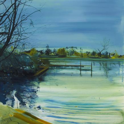 Calum McClure - The Bathing Pond Pontoon, 2017