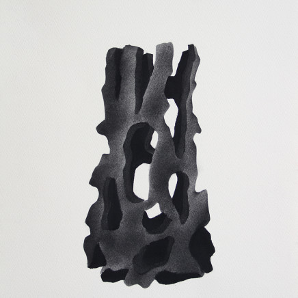 David Nash OBE RA - Fire Carved Holly, 2017