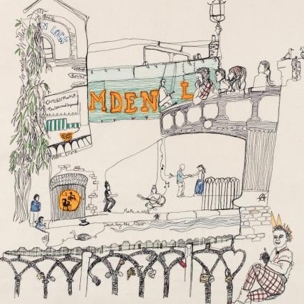 Harriet Riddell - 'Love Lock' Camden Town, 2017