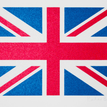 Sir Peter Blake - Small Union Flag - Glitter, 2016