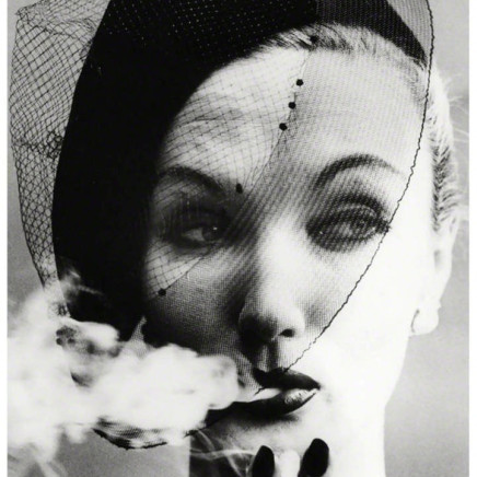 William Klein - Smoke + Veil, Paris, VOGUE, 1958