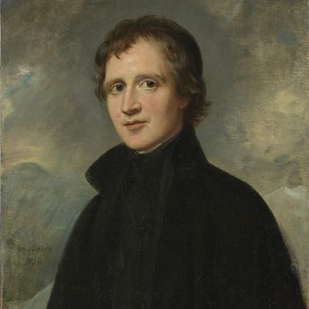 Charles Louis Bazin - Portrait d'homme