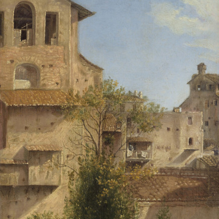 Follower of Thomas Jones - An Italianate Landscape
