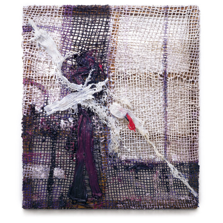 Fabian Marcaccio - Ghost Paintant, 2017